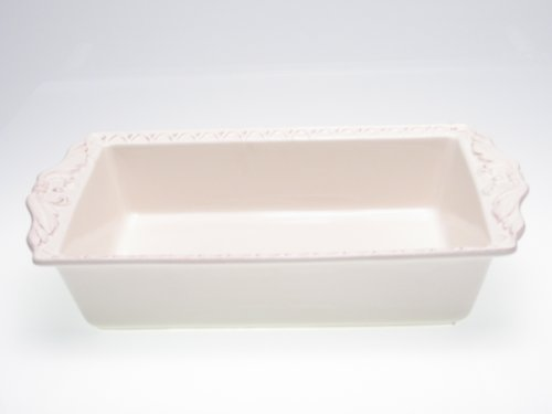 Certified International Firenze Ivory 5-Quart Rectangular Baker, 17-Inch by 10-1/4-Inch