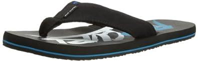 Rip Curl Mens Coolang Thong Sandals TCTAE1 Black/Blue 6.5 UK, 40 EU