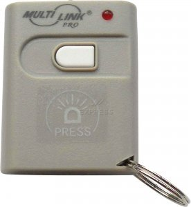 Images for MultiLink SD-300M MultiCode-Compatible Mini Keychain Gate or Garage Door Opener Remote