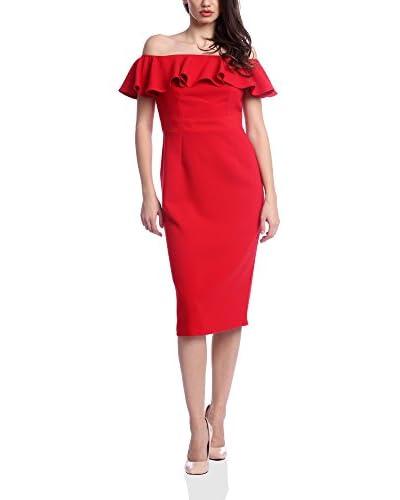 VERA RAVENNA Vestido Rojo