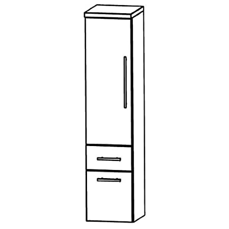 Perfect Swing Bathroom Furniture Cupboard (MNA884 A7ML/R), 40 cm