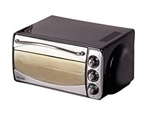 Delonghi, Mini Oven Stainless Steel Chrome And Black Finish