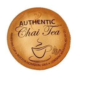 Smart Sips Authentic Chai Tea Latte, Single Serve Cups For Keurig K-Cup Brewers, 24 Count