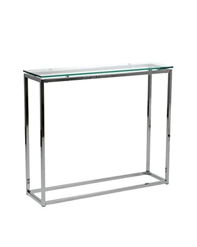 Euro Style Sandor Console Table, Clear