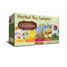 Celestial Seasonings Herbal Tea Sampler Caffeine Free Herbal Tea - 18 Ct