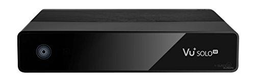 VU+ Solo SE, Full HD 1080p Linux Ricevitore, 1x DVB-S2 Tuner, Nero