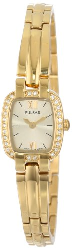 Pulsar Swarovski® Crystal Gold-tone Women's watch #PEGF66