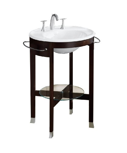 KOHLER K-3116-F2 Iron Works Tellieur Console Table, Black Forest