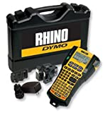 Brand New. Dymo RhinoPRO 5200 Labelmaker Kit Printer Adaptor and Rechargeable Battery for 6-19mm Tapes Ref S0841390