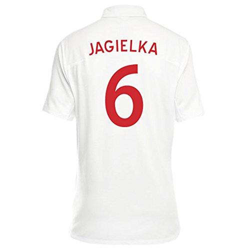 Umbro JAGIELKA #6 England Women's Home Jersey