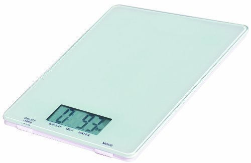 BuyDirect2You Digital Glass Kitchen Scale, White by BuyDirect2You