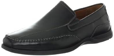 (速抢)美国总统鞋 Johnston&Murphy 男士皮鞋 Deaton Runoff 折后$104.14 黑