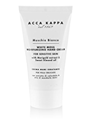 Acca Kappa White Moss Moisturizing Hand Cream 75ml