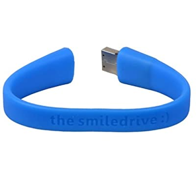 Superfast USB 3.0 - 8 GB Wristband Pen Drive - Blue