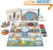 Lets play!  We're Going on a Bear Hunt (Book, DVD & Game)