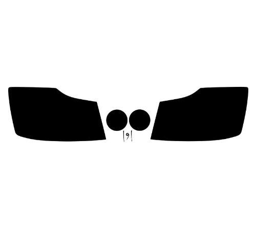 Subject 9 - Nissan Titan Pre-cut vinyl overlay headlight PLUS tint kit (2004 2005 2006 2007 2008 2009 2010 2011 2012 2013 2014 2015) DARK (Nissan Titan Headlight Tint compare prices)