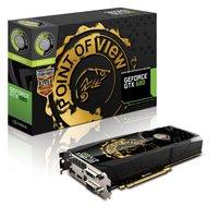 TGT NVIDIA GeForce GTX 680 Charged Grafikkarte (PCI-e, 2GB DDR5 Speicher, DVI, HDMI, 1 GPU)