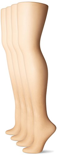 L'eggs Women's Everyday Regular Panty Hose, Nude, B (4 Pair) (Non Control Top Pantyhose compare prices)