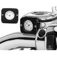 Harley-Davidson Billet Analog Clock. Billet aluminum case. 75054-03-Black Finish