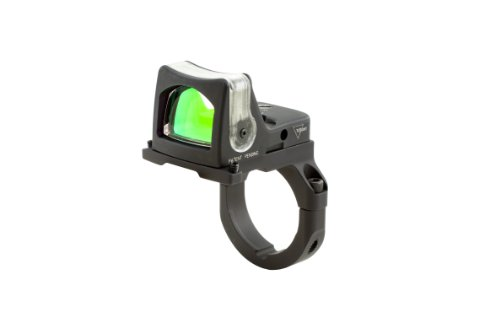 Trijicon Ruggedized Miniature Reflex Sight 9 Moa Dual Illuminated With Rm38 Acog Mount