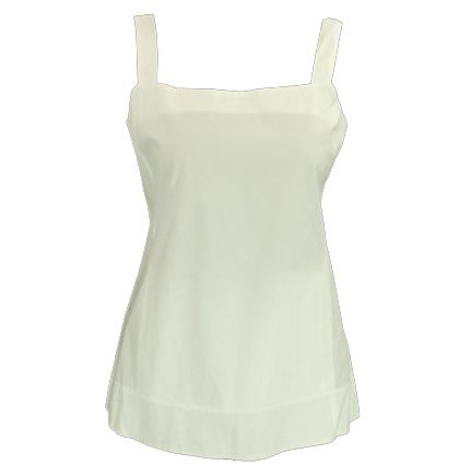 Eileen Fisher Long Cami White L