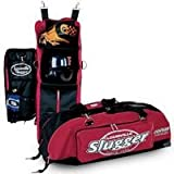 Louisville Slugger Deluxe Locker Bag 600 Denier Nylon Black 36x10x11