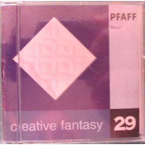 Pfaff Quilt Creative Fantasy Embroidery Card #29 for 7570 2140 2144 2170(pfaff Creative Fantasy Embroidery Card # 29, Which Will Work in a Pfaff 7570, 2140, 2144, 2170 Embroidery Sewing Machine)---International Version