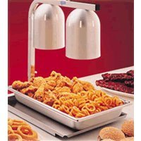 Nemco (6000A-2) 2-Bulb Freestanding Heat Lamp (Kitchen Heat Lamp compare prices)