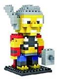 Marvel Avengers Diamond Blocks/Micro Bricks -Spider Man/Hulk/Captain America/Iron Man/Bat Man/Super Man/Thor/Wolverine (Thor)