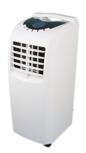 Global Air NPA1-08C 8000 BTU Portable Air Conditioner, Medium, White 24v dc air conditioning system portable air conditioner for boats trucks