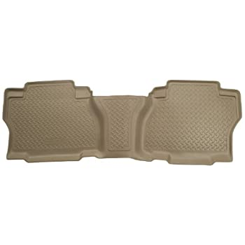 Husky Liners Custom Fit Front and Second Seat Floor Liner Set for Select Ford Taurus Models Black