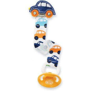 Mud Pie Car Pacifier Clip 178532 - 1
