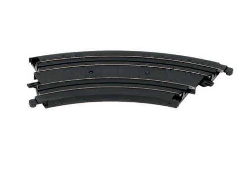 Micro Scalextric G106 Curve 153mm/6' 45 degree (2 Pieces) 1:64 Scale Accessory - 1