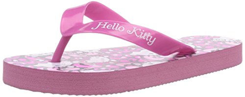 Hello Kitty HK LANDY, Mädchen Zehentrenner, Pink (133 Pink/Pink), 28 EU