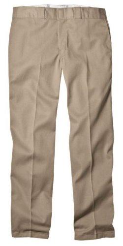 Dickies Mens Original 874 Work Pant, Khaki, 34x32