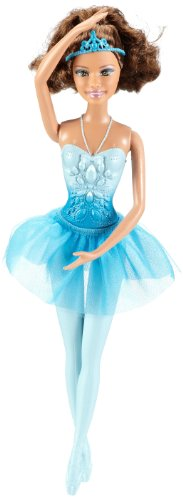 Barbie Ballerina Brunette Theresa Blue - 1