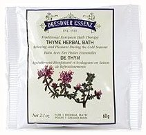 Thyme Herbal Bath Salts