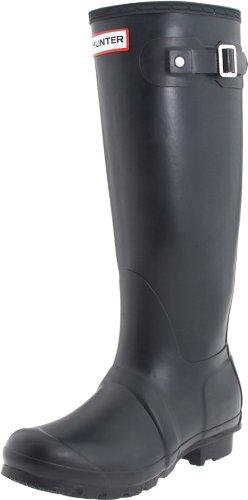 Hunter Original Tall Welly Boot,Navy/Navy,Women's 7 M/Men's 6 M
