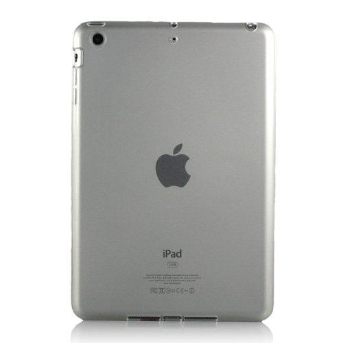 i-Beans アマゾンで最多のセレクション カラー豊富 iPad mini用ソフトケース アップル アイパッド ミニ ケース 半透明 ホワイト TPU case for iPad mini(4560-7)