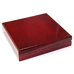 Amazon.com: Large Cherry Wood Necklace Jewelry Gift Box