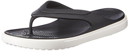 Crocs Citilane Flip Ciabatte, Unisex adulto, Negro (Black/White), 41