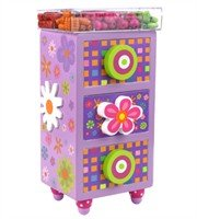 Bead Bazaar Classic Happy Bead Chest - Create Jewellry and Store In Adorable Storage Container!