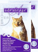 Advantage II for Cats 9-18 lbs, Purple 12 Pack (Multi Advantage For Cats compare prices)
