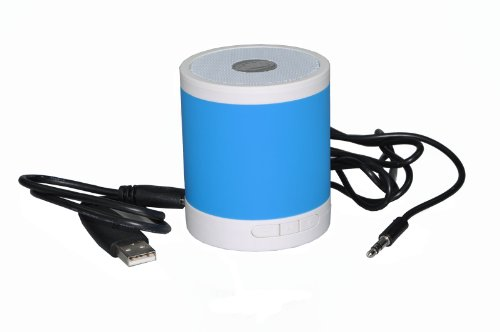 Portable Rechargeable Bluetooth Wireless Mini Speaker For Mobile Bluetooth Devices Blue