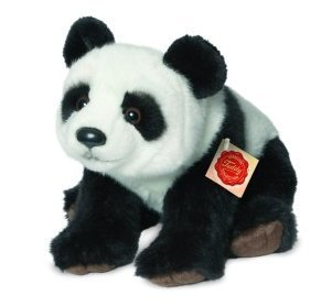 Plush Soft Toy Panda by Teddy Hermann 28cm. 924265