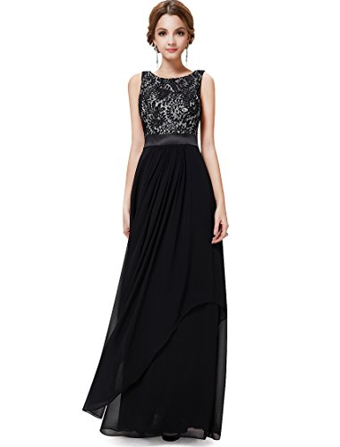 Ever Pretty Womens Women's Formal Evening Dresses 14 US Black