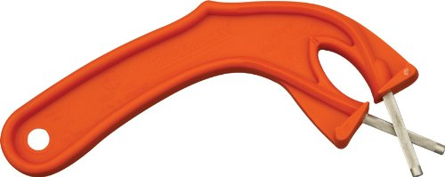 Edgemaker 012O The Sportsman Edgemaker With Orange Unbreakable High-Impact Plastic Handles
