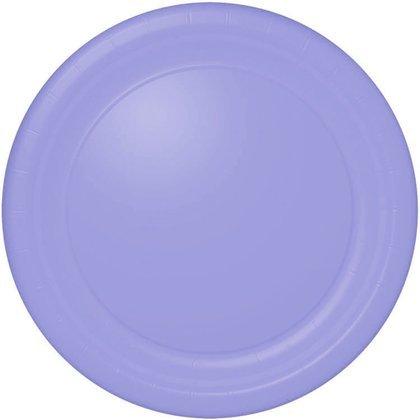 Hallmark - Lavender Round Paper Dinner Plates - 1