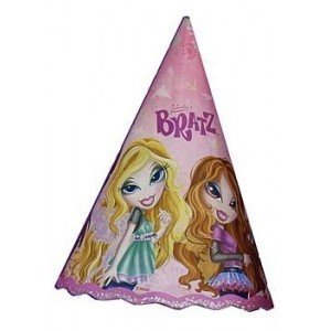 Bratz 'Fashion Pixiez' Cone Hats (8ct) - 1