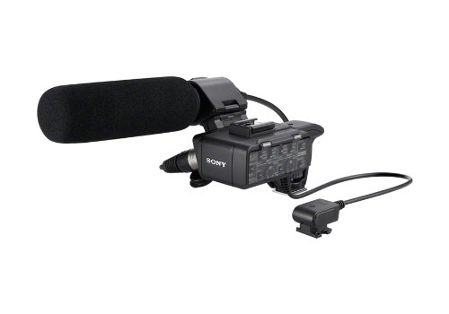 Sony XLRK1M Balanced Audio Adapter for Alpha Camera (Black)